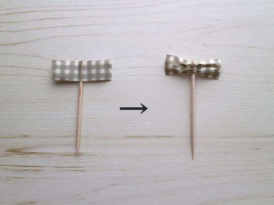 リボンピックの作り方手順