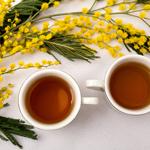 コーン茶の写真