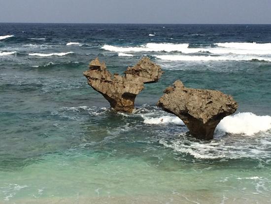 ハートロックビーチの写真