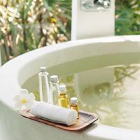 お風呂でリラックスする記事のキャプチャ