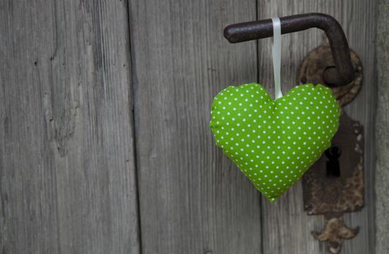 チョロ松カラーグリーンハート