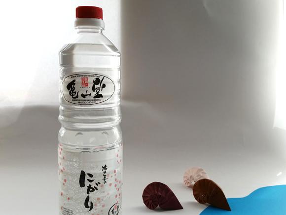 亀山堂赤いにがりの写真