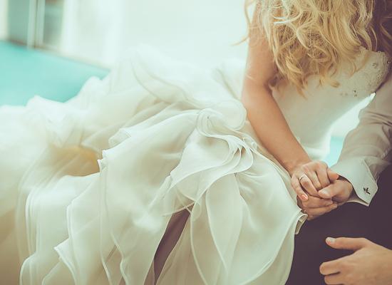結婚式の女性の写真