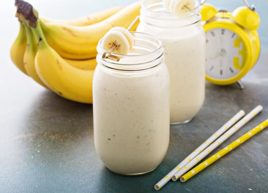 バナナミルクの写真