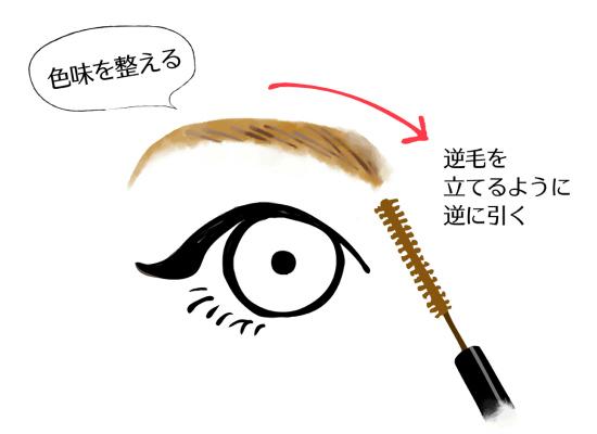 綺麗な眉毛を書く方法