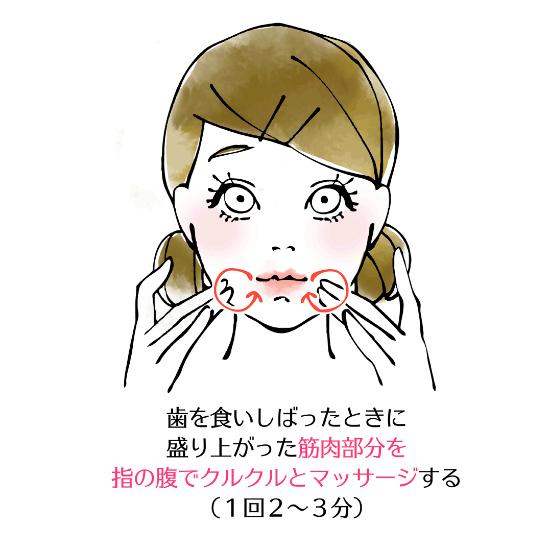 顎のマッサージ0819