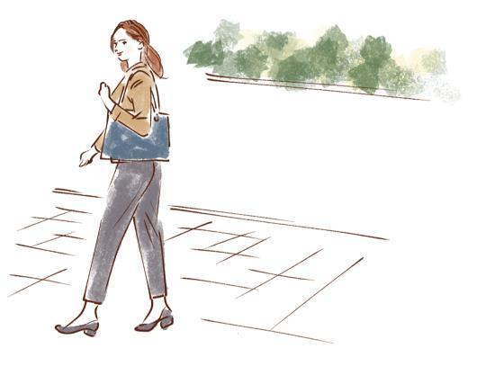 歩くことを意識しよう