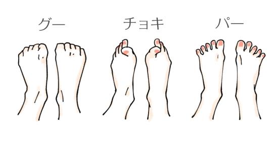 足指じゃんけん0113-6