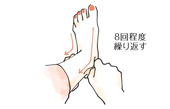 足のマッサージ1207-4