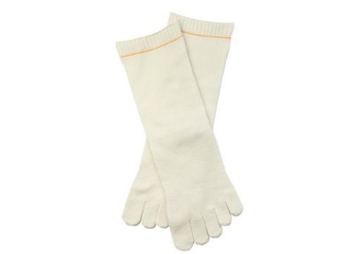 内絹外ウール5本指靴下-1114-2