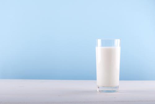 低脂肪乳の写真
