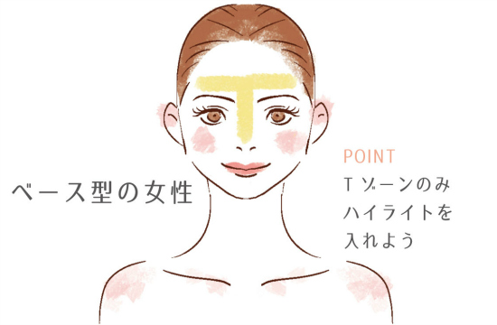 highlight makeup 0327-11