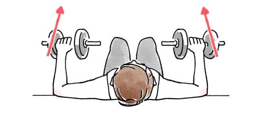 大胸筋を鍛えるベンチプレス0501-8