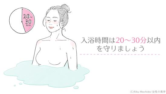 入浴時間は20分~30分