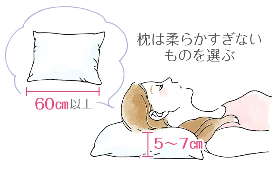 シンプルな枕選びのポイント 0508-2