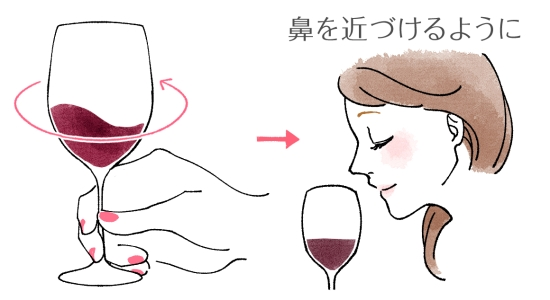 ワインのマナー 0418-4