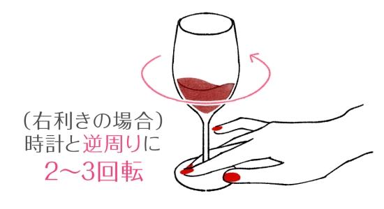 ワインのマナー 0418-6