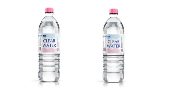 ペットボトル2本の画像