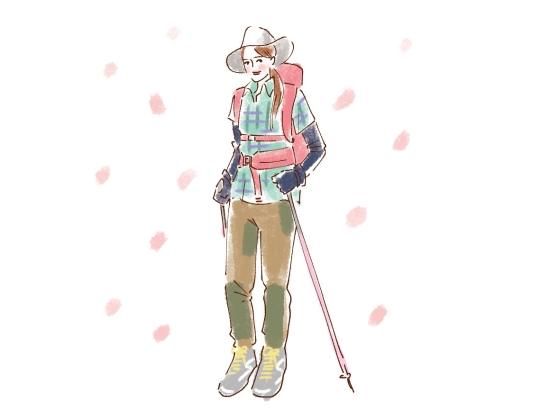 春の登山ファッション0606-1