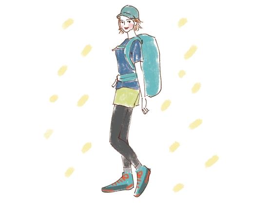 夏の登山ファッション0606-2