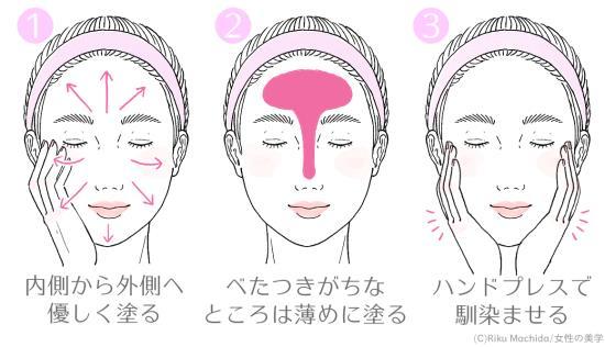 乳液の基本的な塗り方