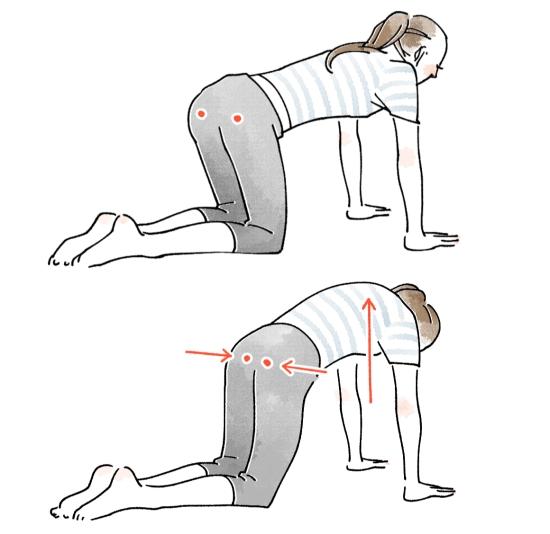 骨盤体操で子宮の働きを高める07264