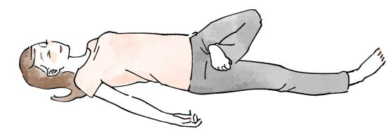 子宮が温まるリラックス体操07265
