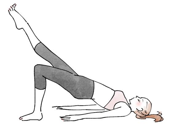 お尻の筋肉のトレーニング 07213