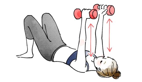 大胸筋を鍛えるエクササイズ10025