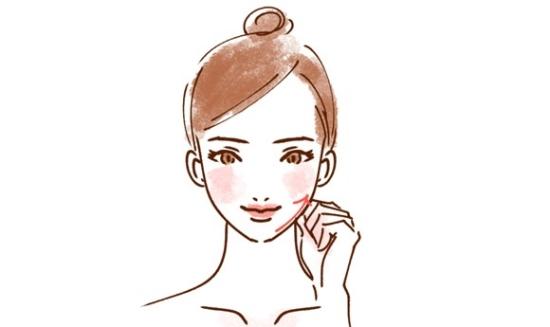 顔のリンパマッサージ法116585