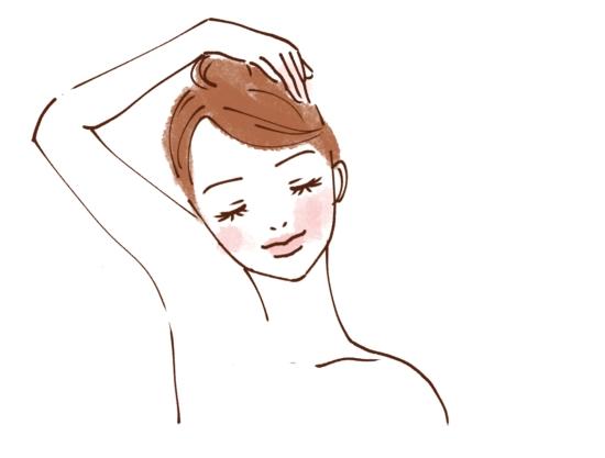 顔全体をほぐす方法01564