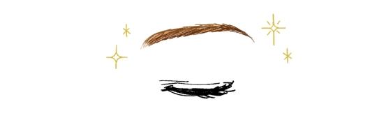 眉毛を整える32156