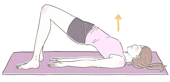 身体を反らせる背骨のストレッチ01233