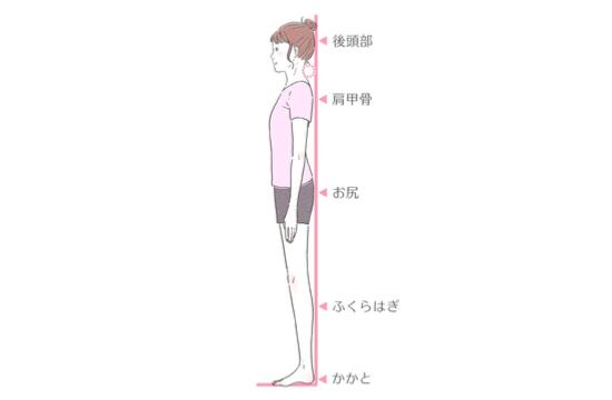 姿勢の悪さのチェックポイント02271