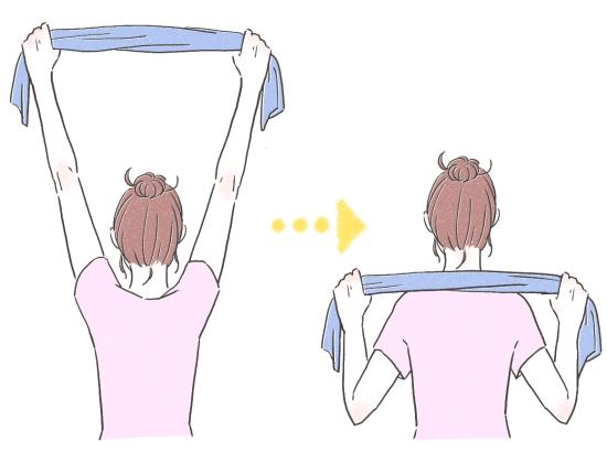 肩甲骨のストレッチ方法02278