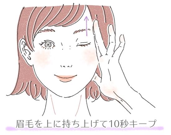 眉のリフトアップ541543