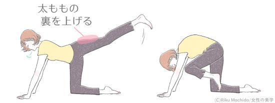 「大臀筋」を鍛えるエクササイズ!
