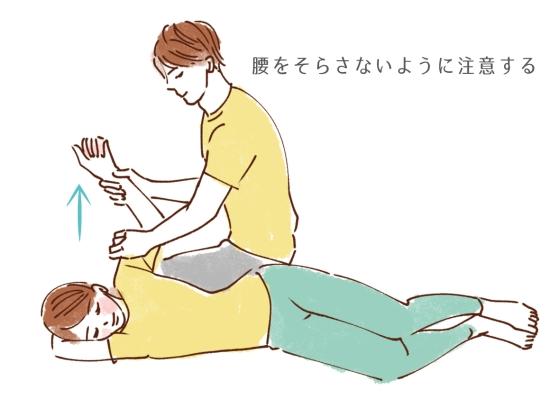肩と胸のストレッチ94654