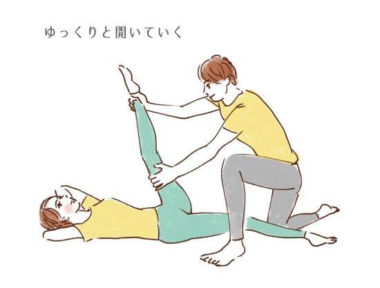 内転筋のストレッチ94657