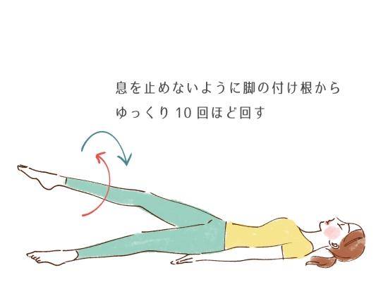 血行改善のストレッチ13413