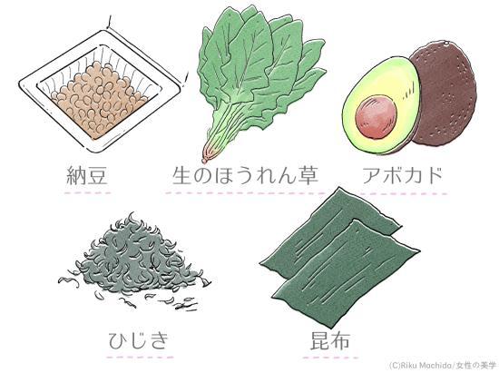 カリウムが多い食材の紹介