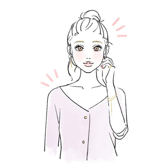 首が短いと悩む女性の解消方法14485