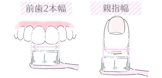 歯ブラシヘッドの大きさの選び方 153158