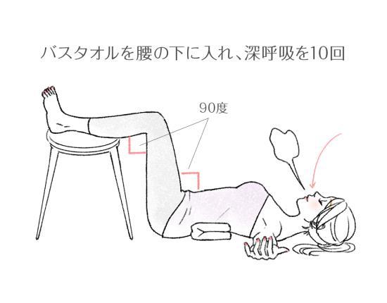 横隔膜を伸ばす