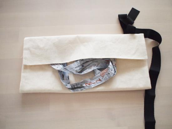 ショップバッグのリメイク方法手順