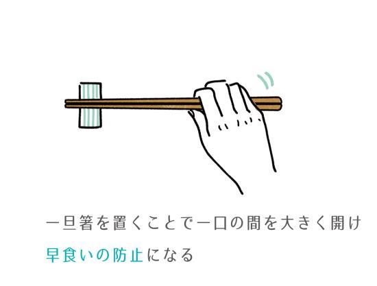 一旦箸を置く