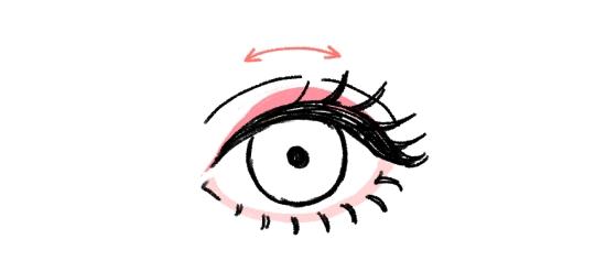 目を大きくしたいとき