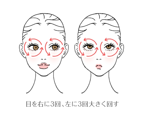 眼輪筋を鍛える簡単なエクササイズ