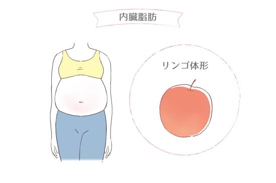 リンゴ体形