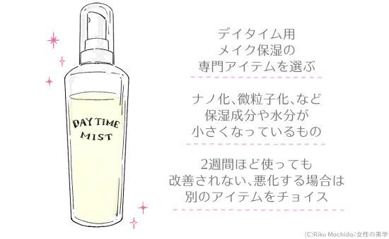 ミストタイプの化粧水を選ぶコツ